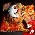 九谷焼 10号打ち出の小槌(鶴・亀) 盛(WAZAHONPO-41852)