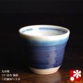 九谷焼 ぐい呑み 釉彩 三代徳田八十吉(WAZAHONPO-YASOKICHI01)