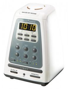 【新商品】 サウンド・オアシス 入眠時安眠機能付き光目覚まし時計 BLS-100/03-016