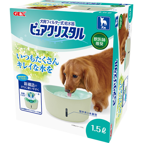 GEX ジェックス ピュアクリスタル 犬用 1.5L