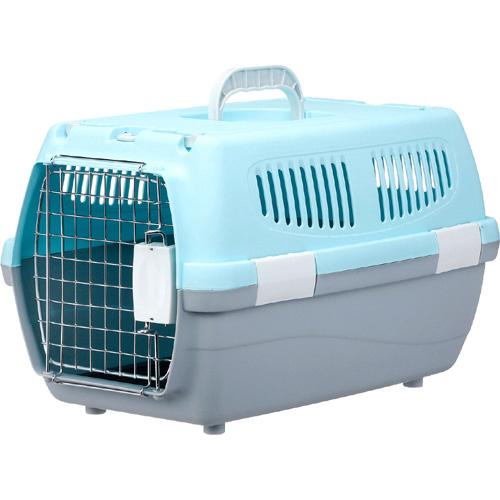 マルカン 2ドアキャリー小型犬・猫用 ブルー DP-172
