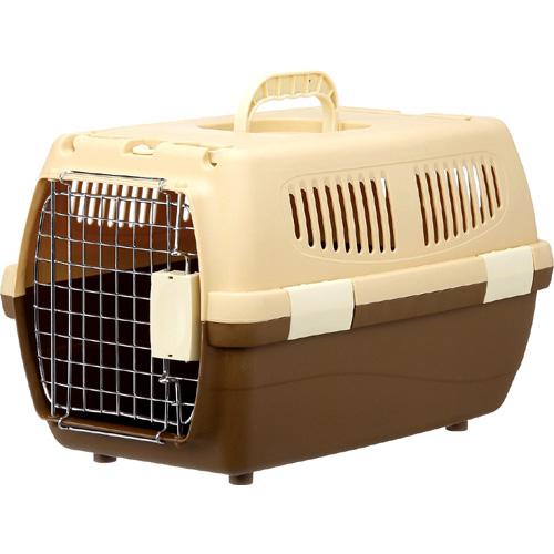 マルカン 2ドアキャリー小型犬・猫用 ブラウン DP-174