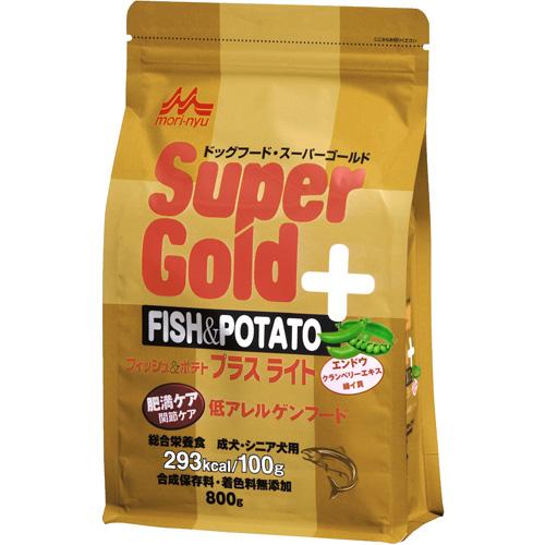 森乳 スーパーゴールド フィッシュ&ポテト プラス 肥満ケア用・関節ケア用 低アレルゲンフード 800g