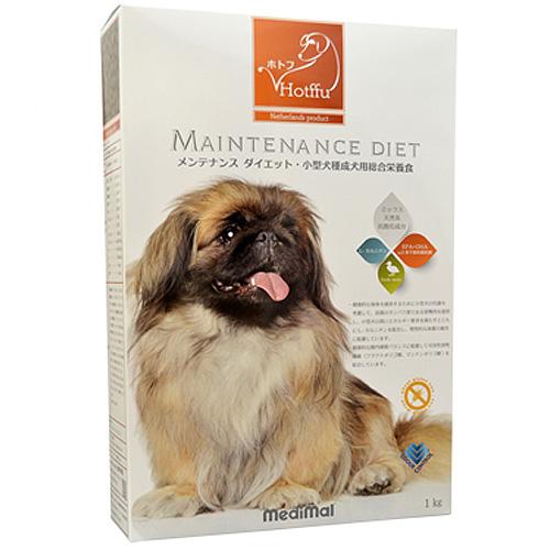 メディマル ホトフ メンテナンス ダイエット・小型犬種成犬用総合栄養食 1kg