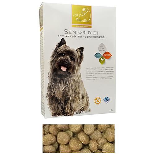 メディマル ホトフ シニア ダイエット・8歳~小型犬種用総合栄養食 1kg 粒