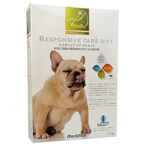 メディマル ホトフ レスポンシブ ケア ダイエット・皮膚と関節の健康維持が気になる成犬用 1.5kg