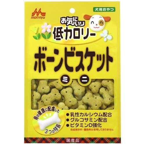 森乳 ワンラック お気にいり 低カロリーボーンビスケット ミニ 100g 【国産品】