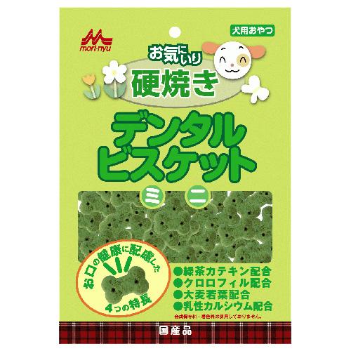 森乳 ワンラック お気にいり デンタルビスケットミニ 80g  【国産品】
