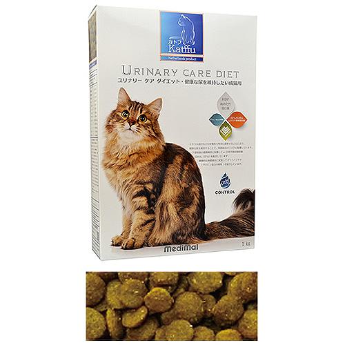 メディマル カトフ ユリナリー ケア ダイエット・健康な尿を維持したい成猫用 1kg 粒