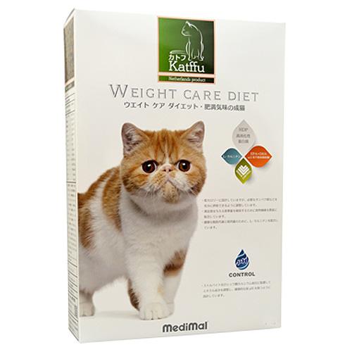 メディマル カトフ ウェイト ケア ダイエット・肥満気味の成猫用 50g テイスティングサイズ