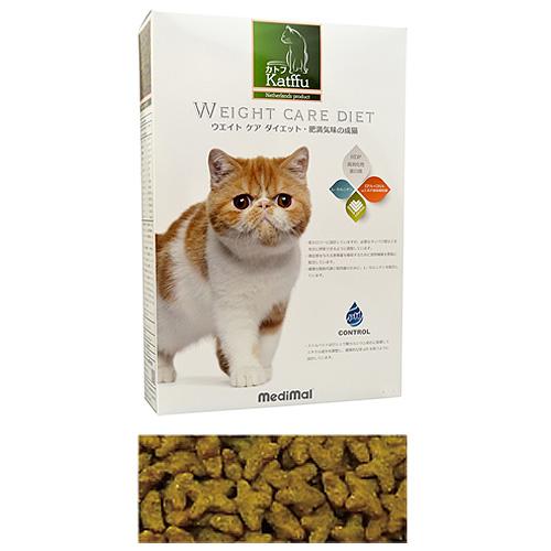 メディマル カトフ ウェイト ケア ダイエット・肥満気味の成猫用 50g テイスティングサイズ 粒