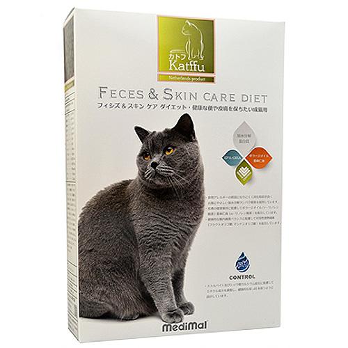 メディマル カトフ フィシズ&スキン ケア ダイエット・健康な便や皮膚を保ちたい成猫用 50g テイスティングサイズ