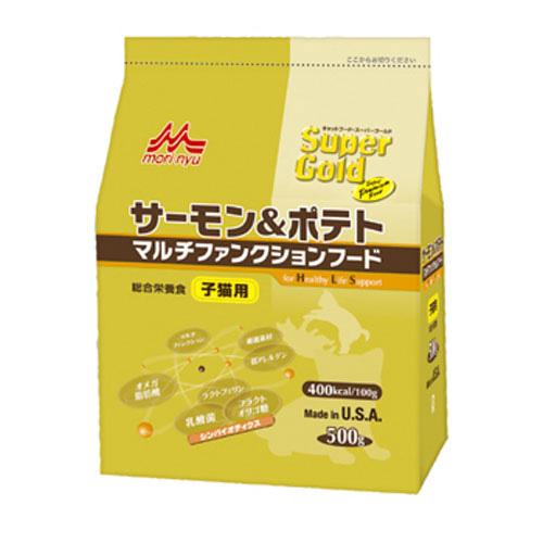 森乳 スーパーゴールド サーモン&ポテト マルチファンクションフード(子猫用) 500g