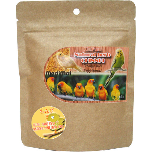 ediMal メディマル Dr.Pure Natural herb CHINNPI ちんぴ 60g