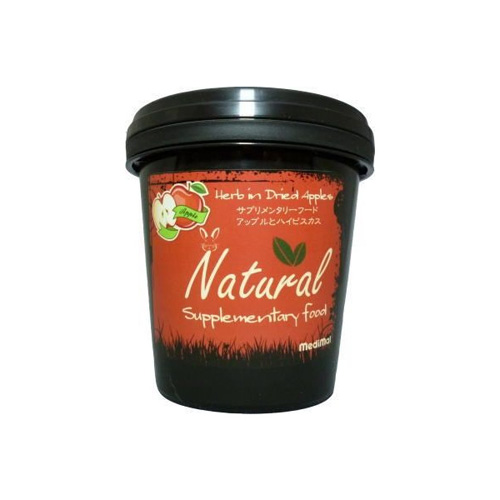 MediMal メディマル Natural サプリメンタリーフード ナチュラル・アップルとハイビスカス 60g