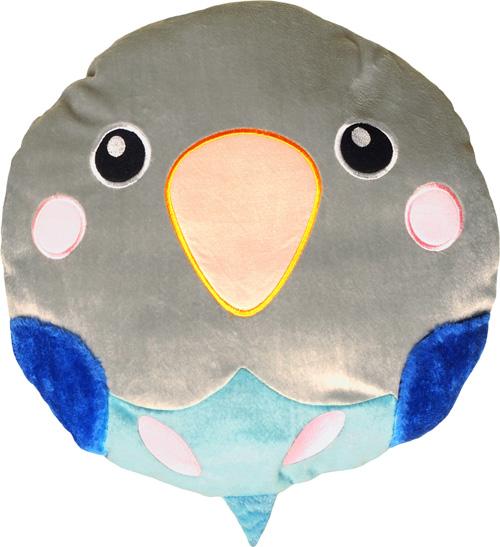 まんまる小鳥さんクッション ボタン