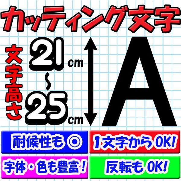 カッティング文字 21cm/22cm/23cm/24cm/25cm