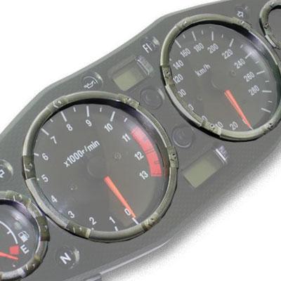 GSX1300R 隼 メーターリング チタニウム