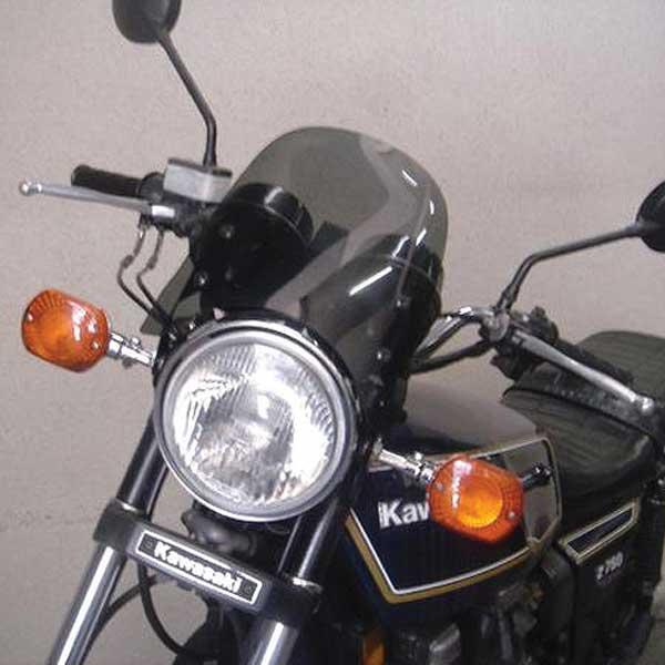 汎用バイクパーツ:スモークメーターバイザー(取り付け用ステー付)