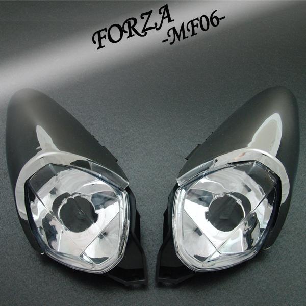 フォルツァ用(MF06):クリスタル ユーロウインカー(メッキカバー付)