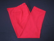 50'S Vintage slacks Red