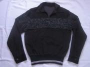 50'S Black&Pinkネップリブシャツ