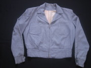 50'S グレーX赤青織り込みネップギャバジャケット