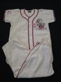 60'S Baseball Shirt&Pants Set