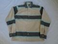 50'S ボーダーコットンシャツ