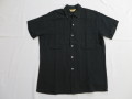 50'S Bond Black Rayon BD Shirt