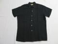 50'S Bond Black Rayon BD Shirt