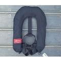 アングラーズハウス 自動膨張式ライフジャケット ブーメランドゥ (ブラック)