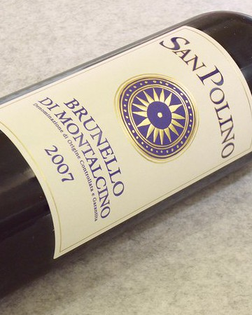 サン・ポリーノ ブルネッロ・ディ・モンタルチーノ2007