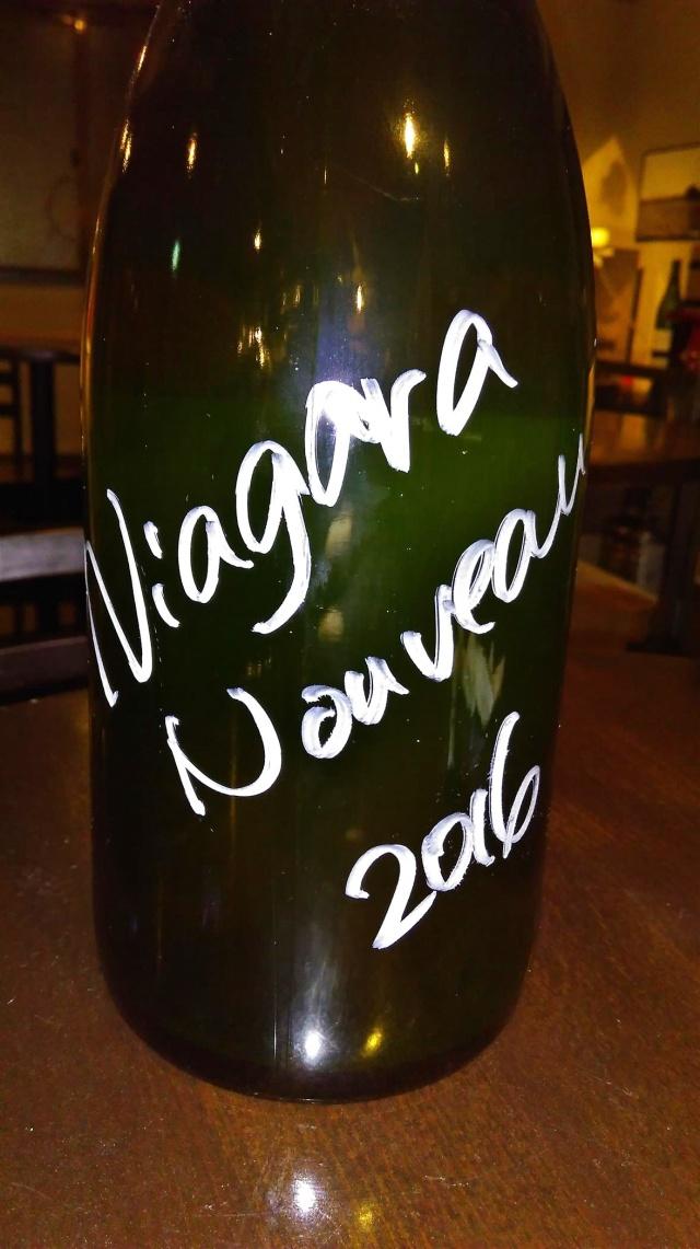 清澄白河フジマル醸造所/ナイアガラ ヌーヴォー 2016(白) 1500mlマグナム