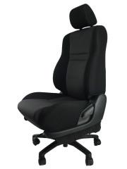 トヨタ オーパACT10★自動車シートがリクライニングチェアー(デスクチェア)に、環境と健康に優しい椅子。パソコン作業に最適