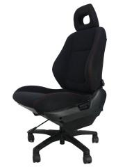 ホンダ インテグラ DC1★自動車シートがリクライニングチェアー(デスクチェア)に、環境と健康に優しい椅子。パソコン作業に最適