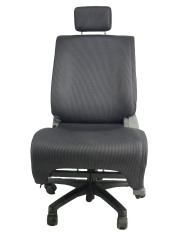 日産 キューブ BNZ11★自動車シートがリクライニングチェアー(デスクチェア)に、環境と健康に優しい椅子。