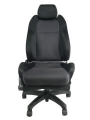 スバル レガシー BH5 ★自動車シートがリクライニングチェアー(デスクチェア)に、環境と健康に優しい椅子。パソコン作業に最適