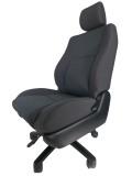 トヨタ ウィッシュ ZNE10★自動車シートがリクライニングチェアー(デスクチェア)に、環境と健康に優しい椅子。