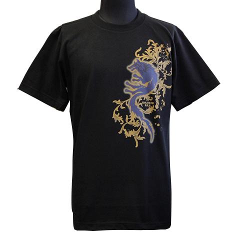 Tシャツ/パルメットウルフ