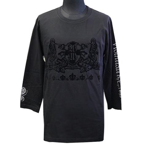 七分袖Tシャツ/ブラザーウルフ(フロッキー)