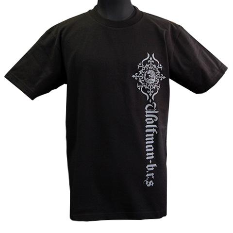 ムーンウルフロゴTシャツ/ブラック