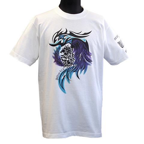 ダークナイツウルフTシャツ/ホワイト