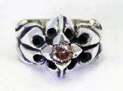 SK Shooting Star Heavy Ring W/Stone