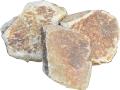 天然粗石【30袋】選び抜いた自然石をジェット噴射で磨き上げ 送料格安!:niwaisi0202