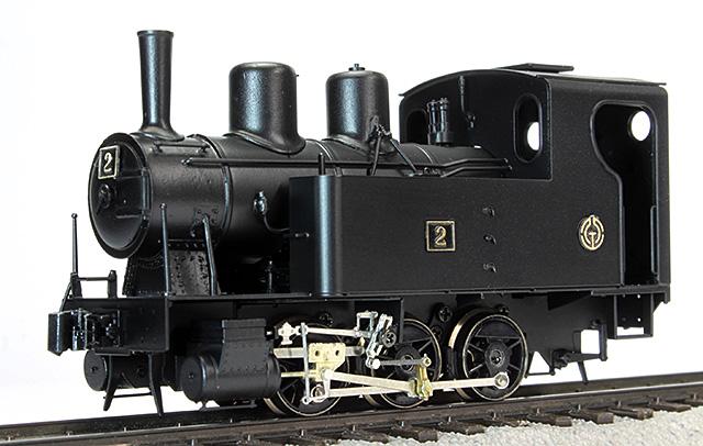1/87 12mm 北丹鉄道2号機