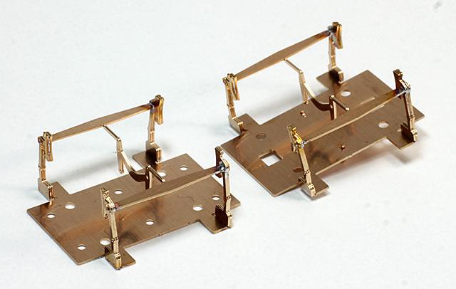 二軸貨車用13mmゲージ改軌パーツ