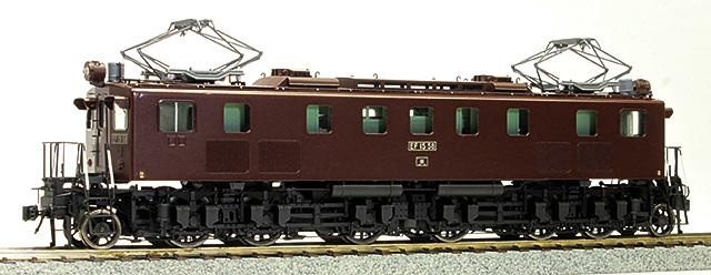 16番 国鉄 EF15 58号機