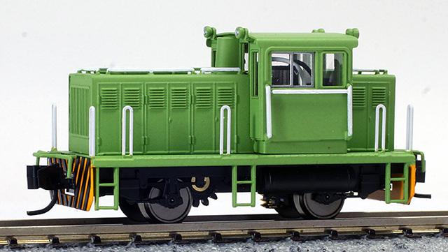 Nゲージ 25t 貨車移動機 タイプB 緑