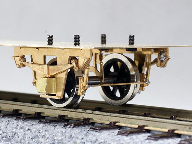 16番 単軸台車 一段リンク